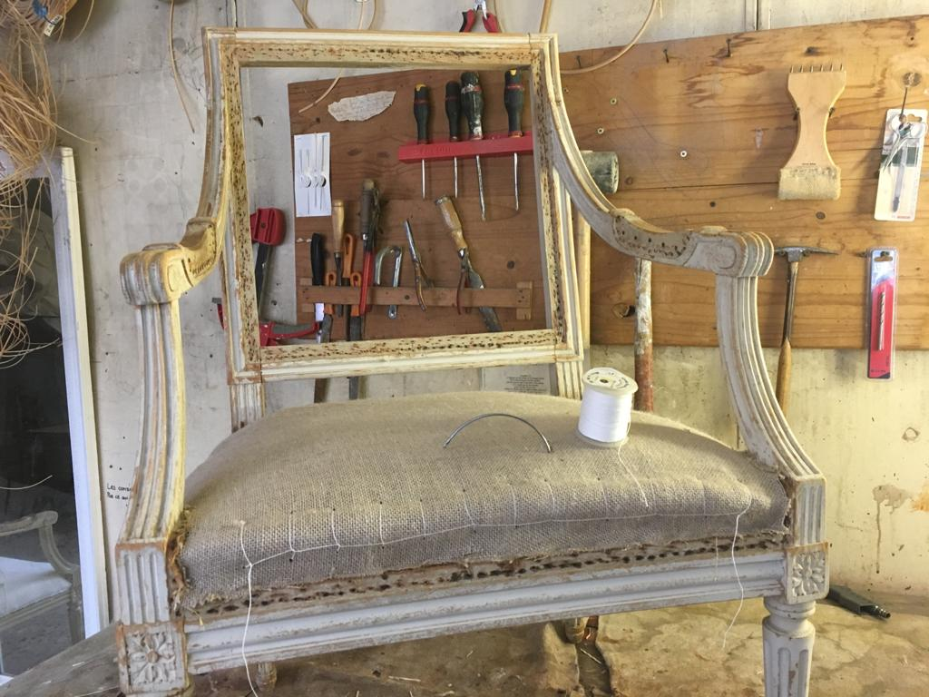 rénovation des fauteuils