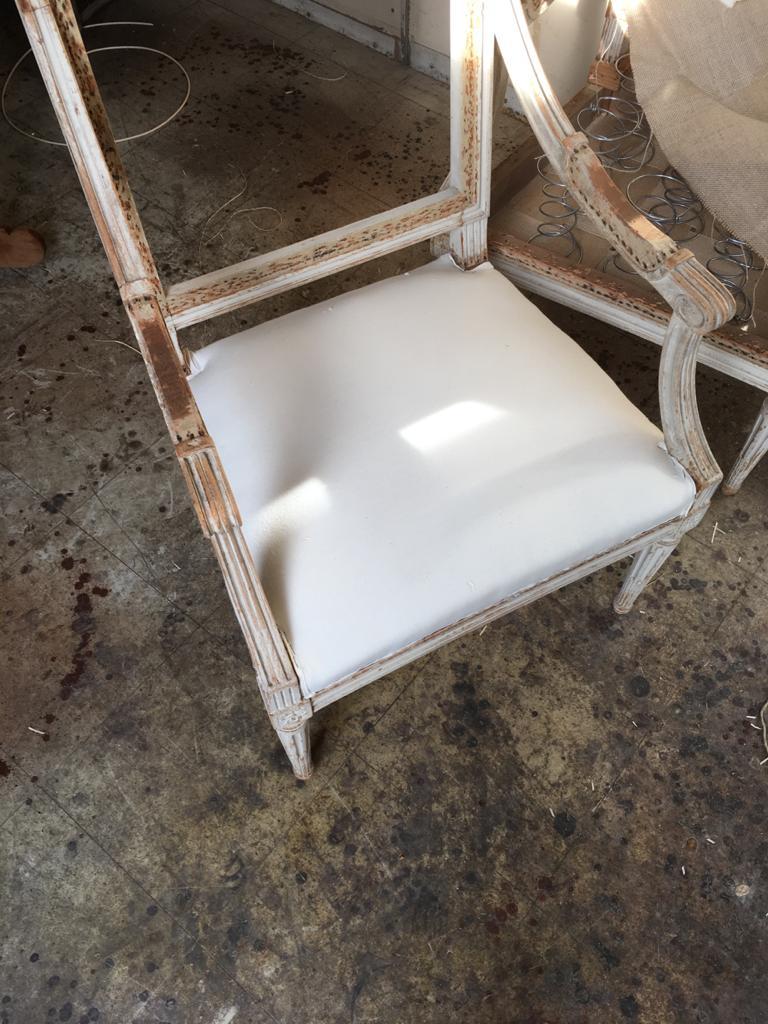 rénovation du fauteuil